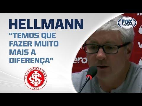 PÓS-JOGO: Athletico-PR 1X0 Internacional - Odair Hellmann fala após derrota no jogo de ida da final