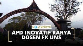 Prihatin karena Langkanya Alat Pelindung Diri, Dosen FK UNS Ciptakan Inovasi APD