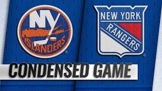 01/10/19 Condensed Game: Islanders @ Rangers