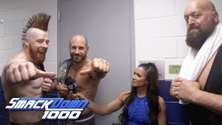 Why did Big Show help The Bar?: SmackDown 1000 Exclusive, Oct. 16, 2018