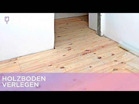 Holzboden verlegen | Renovieren mit Elmar