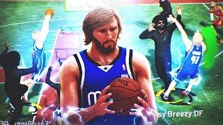 RETURN OF REBIRTH DIRK NOWITZKI BUILD AT PARK! BEST STRETCH BIG & 99 OVERALL + JUMPSHOT! NBA 2K19