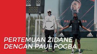 Pertemuan Pribadi antara Zinedine Zidane dan Paul Pogba Memanaskan Rumor Ketertarikan Real Madrid