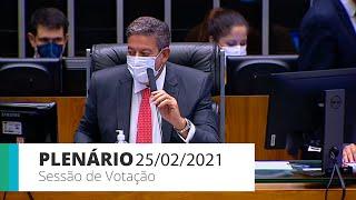 Plenário - Sessão para a votação de propostas legislativas - 25/02/2021 15:00
