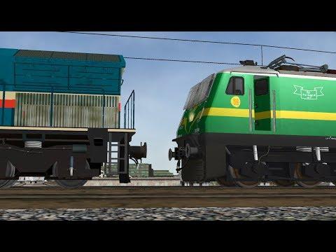 Loco Failed of Vidarbha Express || Rescue By KYN WAG9