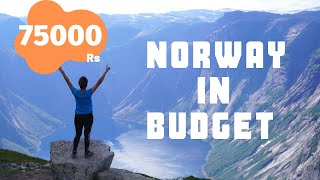 India To Norway Budget Trip 75000| Flights, Hostels, Train, Food | Plan Europe Trip From India