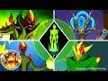 Evolution Of Swampfire In Ben 10 Games 2008 2011