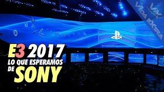 Qué podemos esperar de Sony en el E3 2017