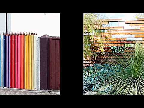 Kreative Garten Zaun Design Ideen    Ein Highlight Im Garten Setzen