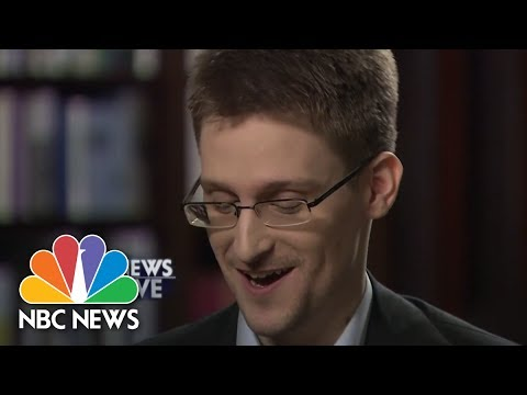 Snowden: Any Cell Phone Can Be Hacked | NBC News