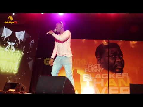 DAMMY KRANE'S PERFORMANCE AT SEYI LAW FAST AND FUNNY BLACKER THAN EVER