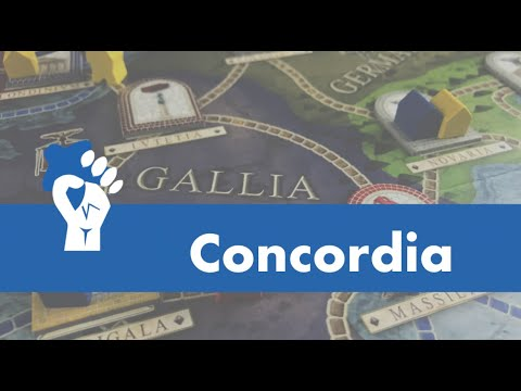 Concordia Overview - with Talking Board Games