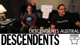 Descendents are touring with The Bouncing Souls, Frenzal Rhomb and Bodyjar!