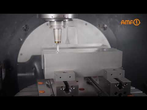 Multiple and zero-point clamping system from AMF - Workpiece and fixture changes in seconds