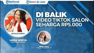 Linda Widya, Sosok di Balik Viralnya Video TikTok Perawatan di Salon Seharga Rp5 Ribu di Jogja