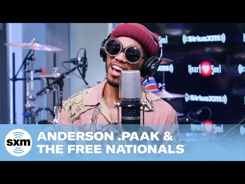 Anderson .Paak & The Free Nationals - Make It Better [Live @ SiriusXM]