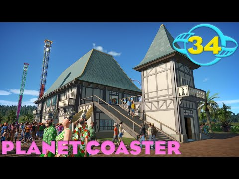 Planet Coaster - Ep. 34 - We Might Have Just Peaked