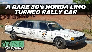 This rare Honda limo is the strangest rally car ever