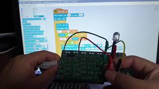 LED matrix 로 교통신호 만들기