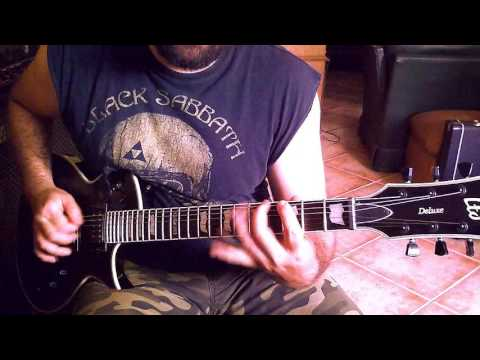 Ltd Ec 1000S by Juanjo Pelegrín. Shred guitar.