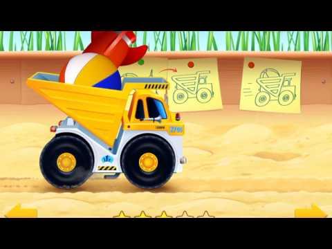 Машинки. Мультик игра про карерский самосвал для детей от 1-5 лет
