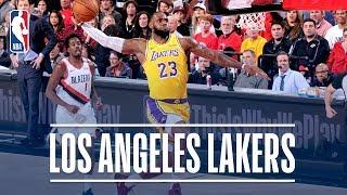 Best of the Los Angeles Lakers!   2018-19 NBA Season
