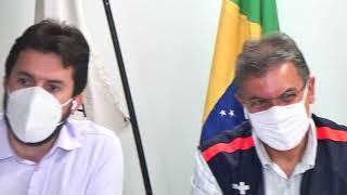Depois de ganhar a ação para intervenção judicial no Hospital São Lucas, o prefeito de Patos de Minas, Luís Eduardo Falcão anunciou a possibilidade de retirada dos equipamentos do local para serem levados para o Hospital de Campanha.