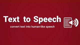 Text To Speech | BEST Text-To-Speech Voice