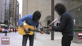 "Arkells— ""Deadlines"" acoustic, Busking for Change"