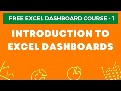 Excel Dashboard Course #1 - Introduction to Excel Dashboards ...