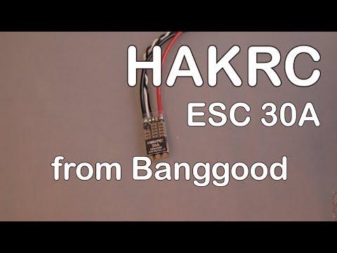 HAKRC ESC 30A from Banggood