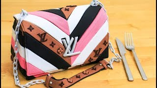 Louis Vuitton Fashion Purse Cake By Cakes StepbyStep