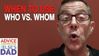 """When do I use """"who"""" and """"whom""""?"""