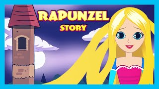 RAPUNZEL English Kids Story Animation | Fairy Tales and Bedtime Stories - Full Story