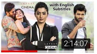 Lover (2020) Hindi Dubbed Full Movie with English Subtitles | Vijay Deverakonda Rashmika Mandanna
