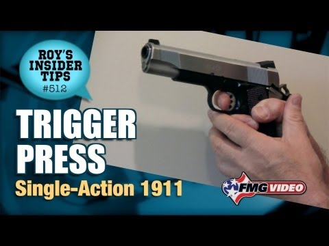 Trigger Press: Single-Action 1911