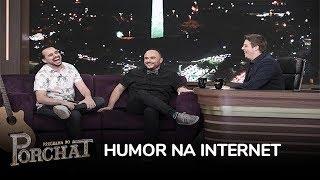 Marcos Castro e Ed Gama contam como começaram no humor