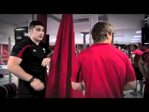 Putting the new Under Armour Wales Rugby (WRU) shirt to the test