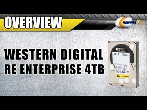 Newegg TV: Western Digital RE Enterprise 4TB 7200 RPM Internal Hard Drives Overview & Benchmarks