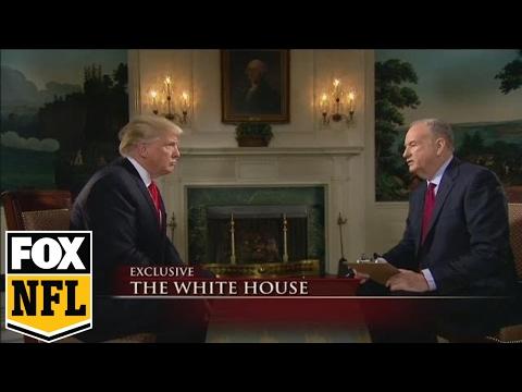 Bill O'Reilly interviews President Donald Trump before Super Bowl LI   FOX SPORTS