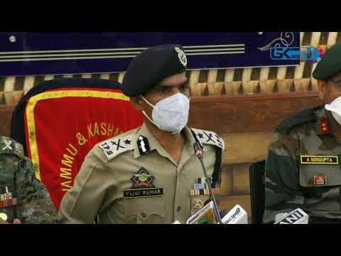 94 militants killed so far this year: IGP Kashmir