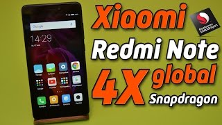 Честный обзор Xiaomi Redmi Note 4X global на Snapdragon 625 в чёрном цвете