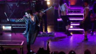 Adam Lambert - Strut live in London 29.11.2010