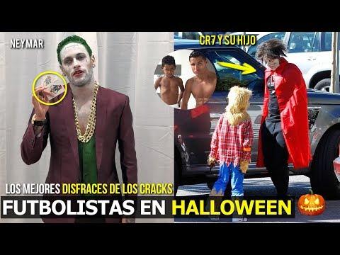 DISFRACES MAS GENIALES DE LOS CRACKS EN HALLOWEEN, EL 4 ES INCREÍBLEMENTE FANTÁSTICO