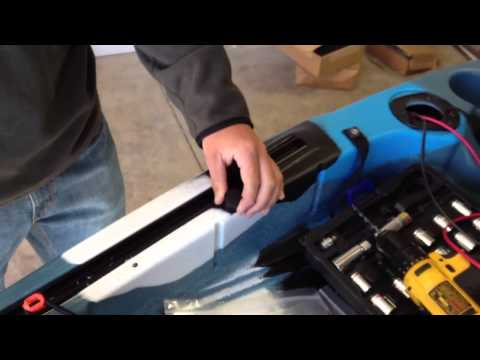 Download link youtube lure 11 5 trolling motor install for Feelfree lure 11 5 with trolling motor
