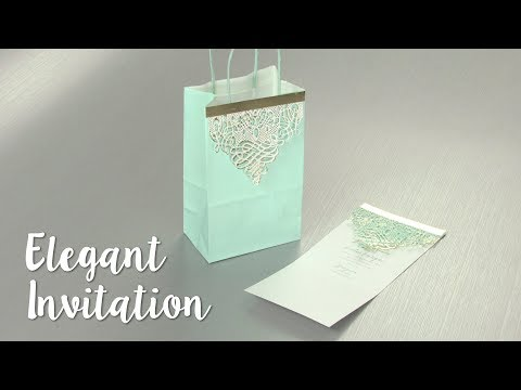 How to Make an Elegant Invitation