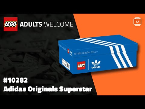 Vidéo LEGO Adults Welcome 10282 : Adidas Originals Superstar