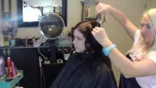 How To Curl Medium Length Hair| Volume Curls|