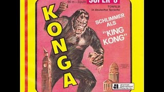 KONGA - Super 8 Digest Film - O King Kong da Inglaterra