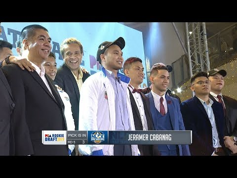 [Sport5]  5th and 6th Round Draft Pick | PBA Rookie Draft 2019